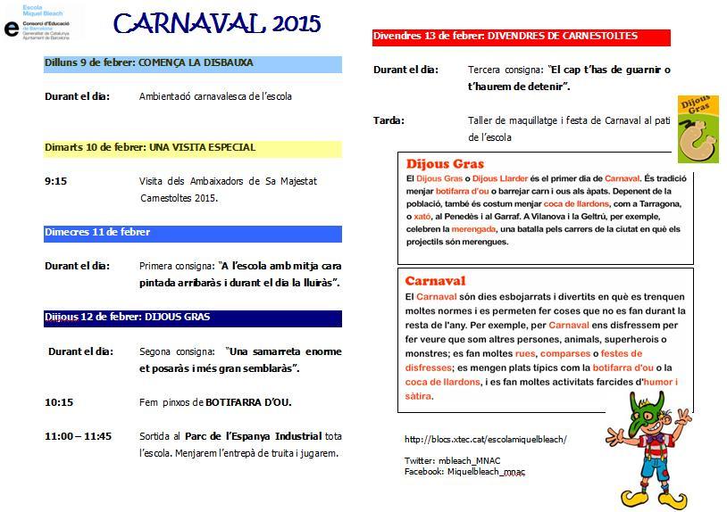 Cartell carnaval