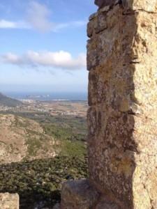Des de dalt del Castell ho podem veure tot!!