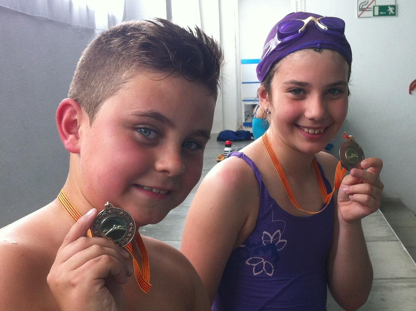 Medalla Natació 2014