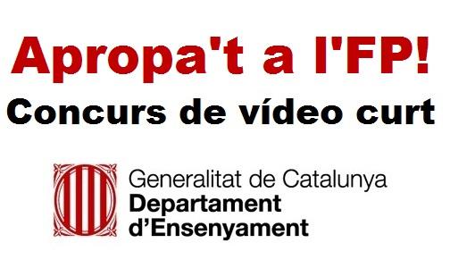 Apropa't a l'FP! Concurs de vídeo curt