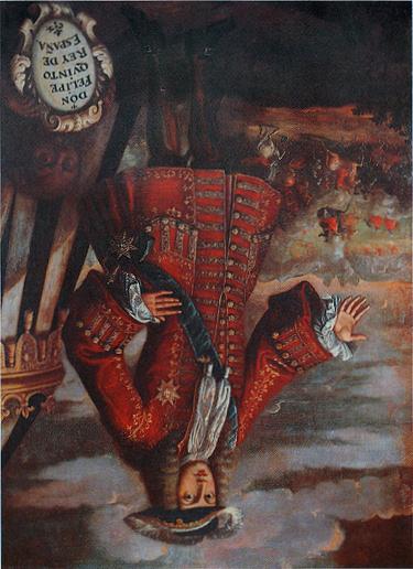 Retrat de Felip V al museu de Xàtiva