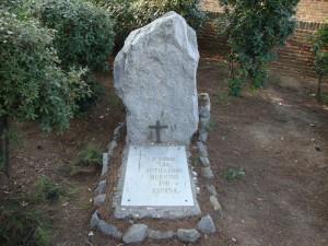 Tombes dels artillers morts a la guerra civil espanyola