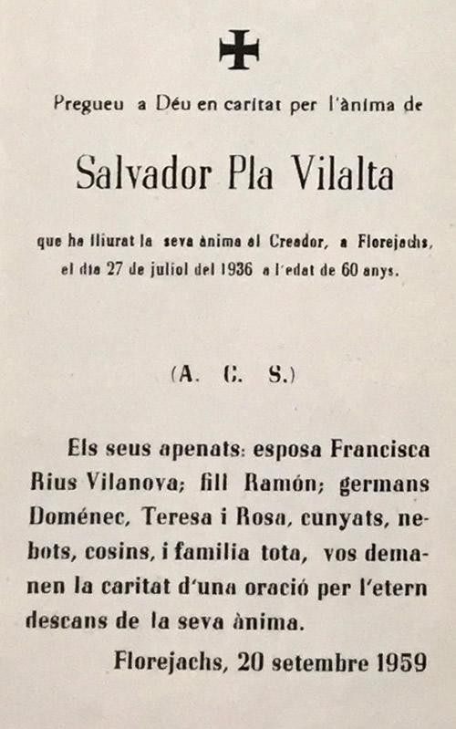 1936 Salvador Pla Vilalta