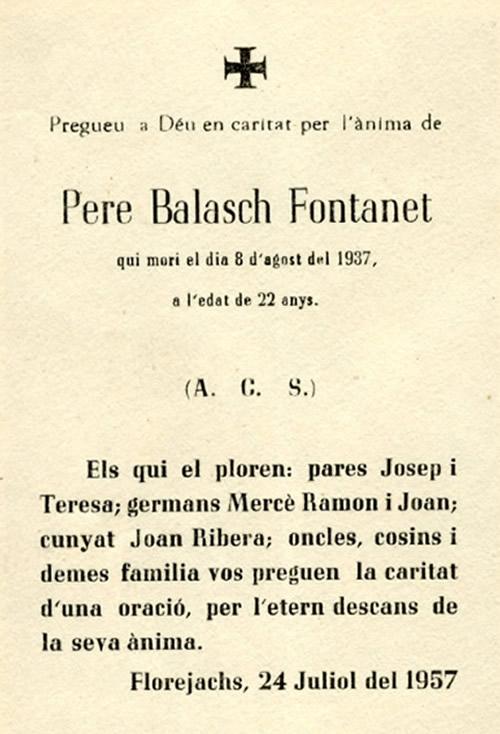 1937 Pere Balasch Fontanet