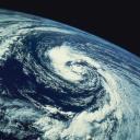 Foto de la Terra feta des d'un satèl·lit