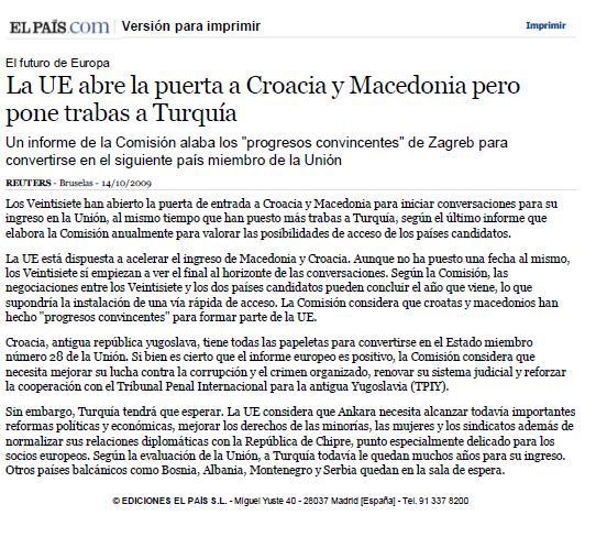 croacia i macedonia