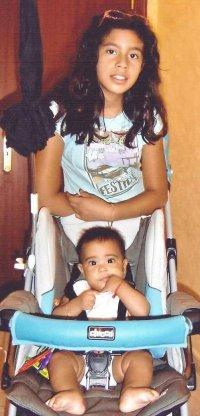 Cristina & little brother