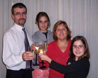 Sandra's family