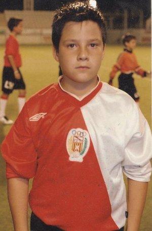 miguel in soccer uniform