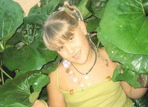 Miriam in the garden