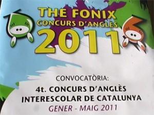 Fonix 2011 Concurs interescolar en llengua anglesa a Catalunya