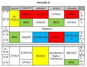 horari 6eA
