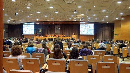 Presentació a les XIV Jornades d'experiències d'aplicació de pedagogia sistèmica a la Universitat Autònoma de Barcelona.