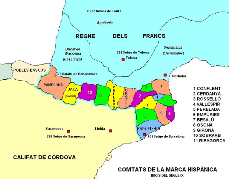 comtats de la marca hispànica