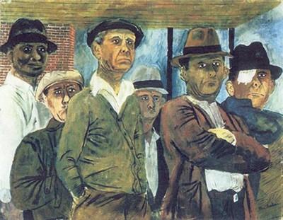 desempleados Ben Shahn 1938