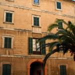 Vista general de la façana del Seminari Vell de Palma