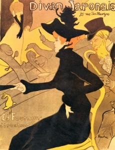 Tolouse Lautrec, Divan Japonais