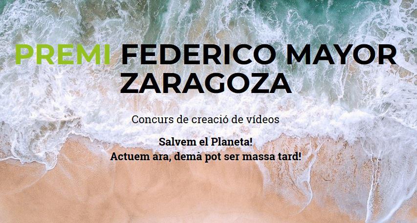 XIII Premi Federico Mayor Zaragoza