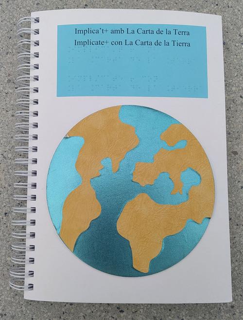 La Carta de la Terra en braille