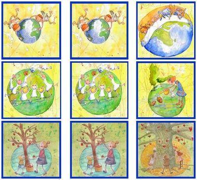 Implica't+ amb el joc de memòria dels principis de la Carta de la Terra
