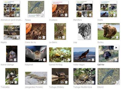 Trencalosques animals en perill d'extinció als Països Catalans