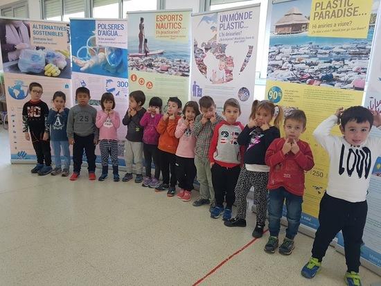Alumnat d'infantil de l'Escola Sant Miquel de Miralcamp