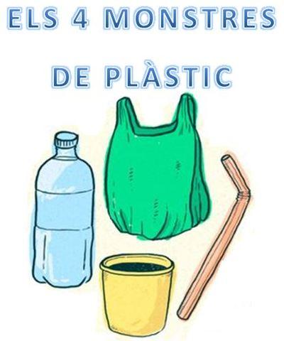 Els 4 monstres de plàstic