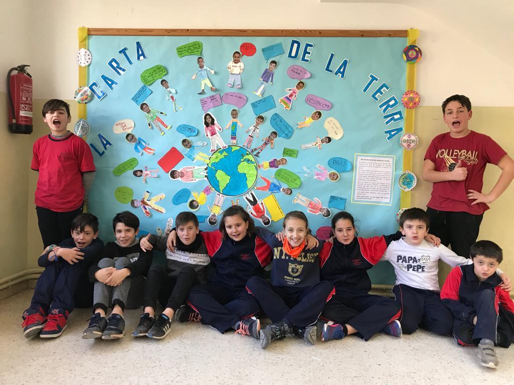 Alumnat de l'Escola Sant Bonifaci de Vinaixa