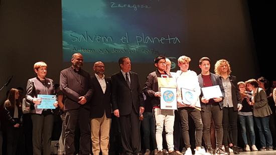 Alumnat premiat Institut Caparrella