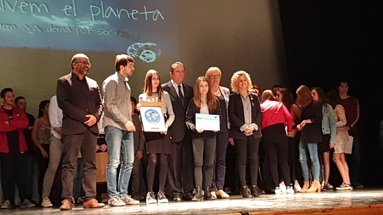 Alumnat premiat Institut Torre Vicens