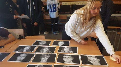 Alumnat de CF d'imatge i so de l'Institu Caparrella