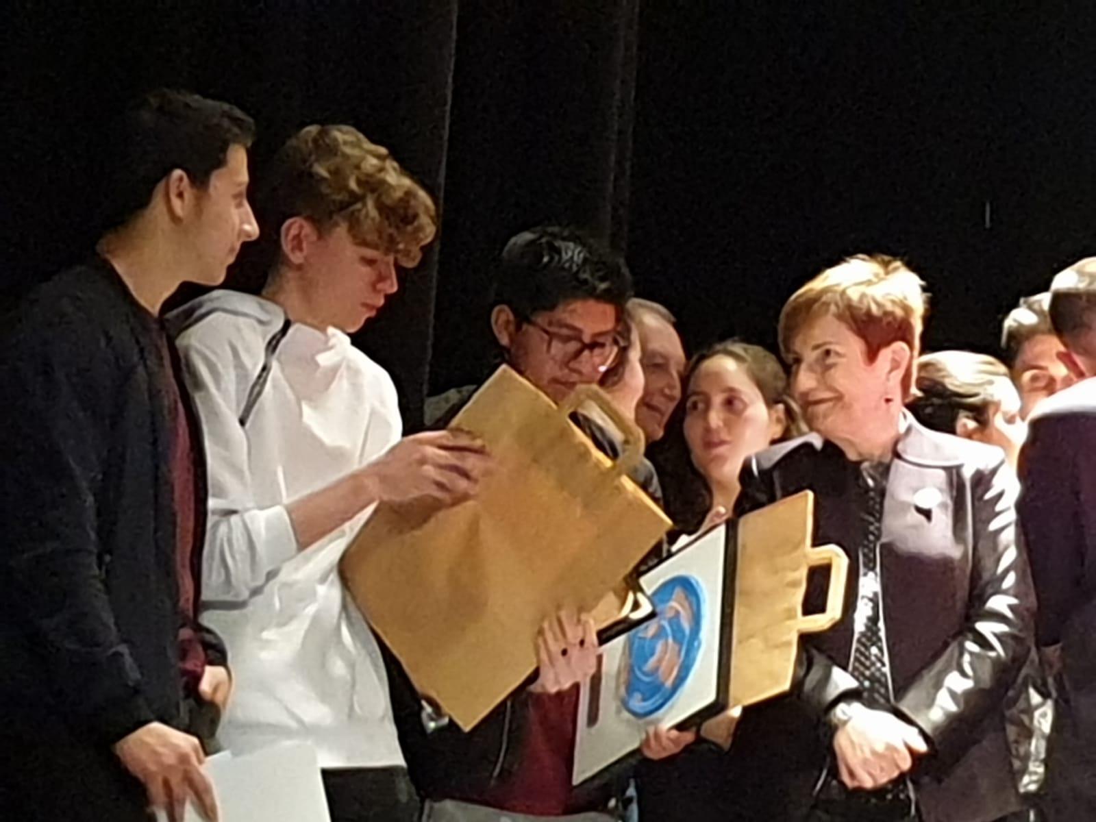 Alumnat Premiat XII Premi Federico Mayor Zaragoza