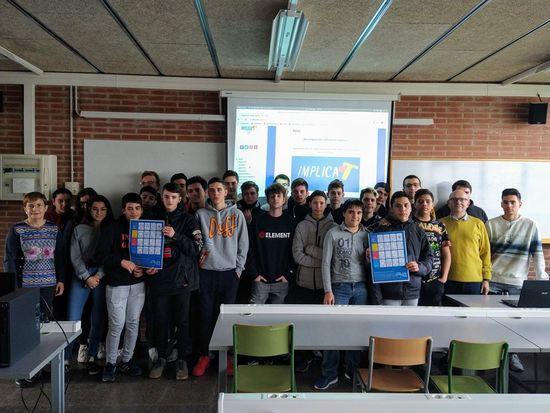 Alumnat 1SMX A de l' Institut Caparrella
