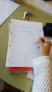 Escrivint, revisant, pensant...