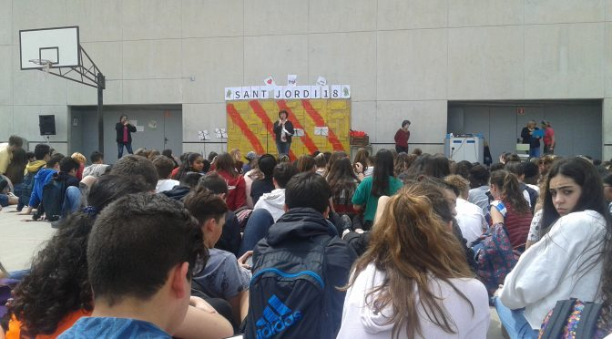 Un Sant Jordi participatiu