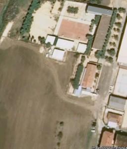 Vista aèria de la ubicació del nou institut
