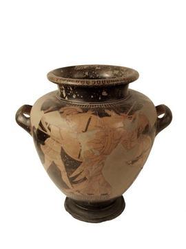 Guerra de Troia; mort d'Hèctor a mans d'Aquil·les