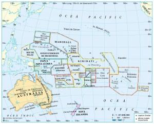 Oceania-relleu i rius d'Aus
