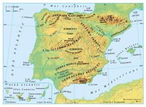 Relleu peninsular i insular
