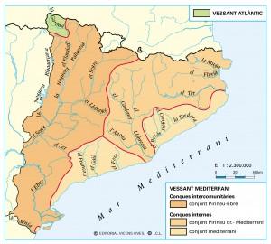 Xarxa fluvial de Catalunya