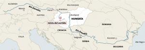 Mapa del Danubi