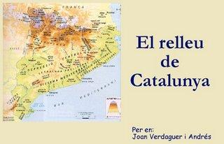 Relleu de Catalunya