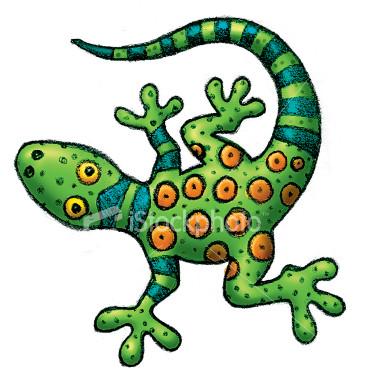 iguana-alebrije
