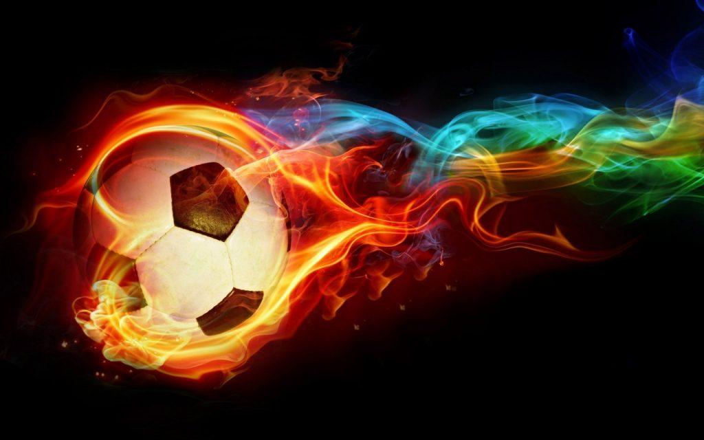 balon-de-futbol-en-llamas