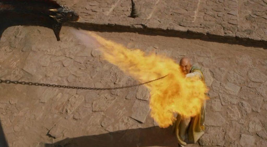 """""""Foc de drac"""" en valyri"""