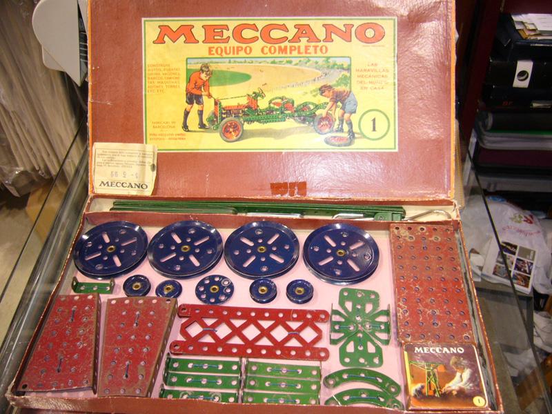 Caixa de Peces de Meccano