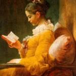 Noia llegint.