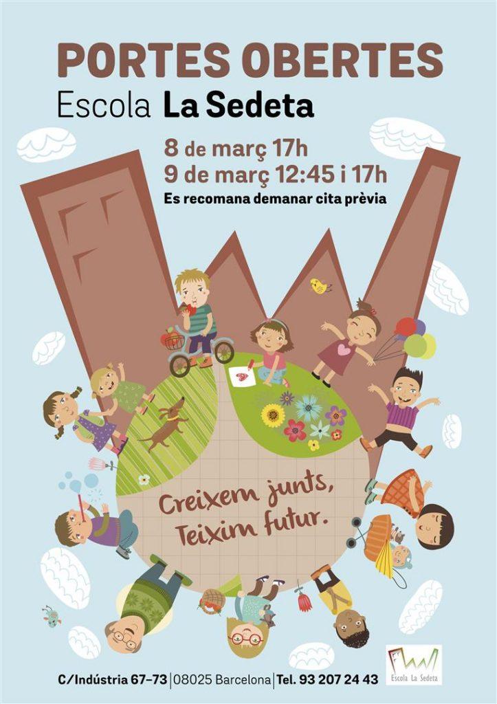 Portes obertes 2017 - Escola La Sedeta