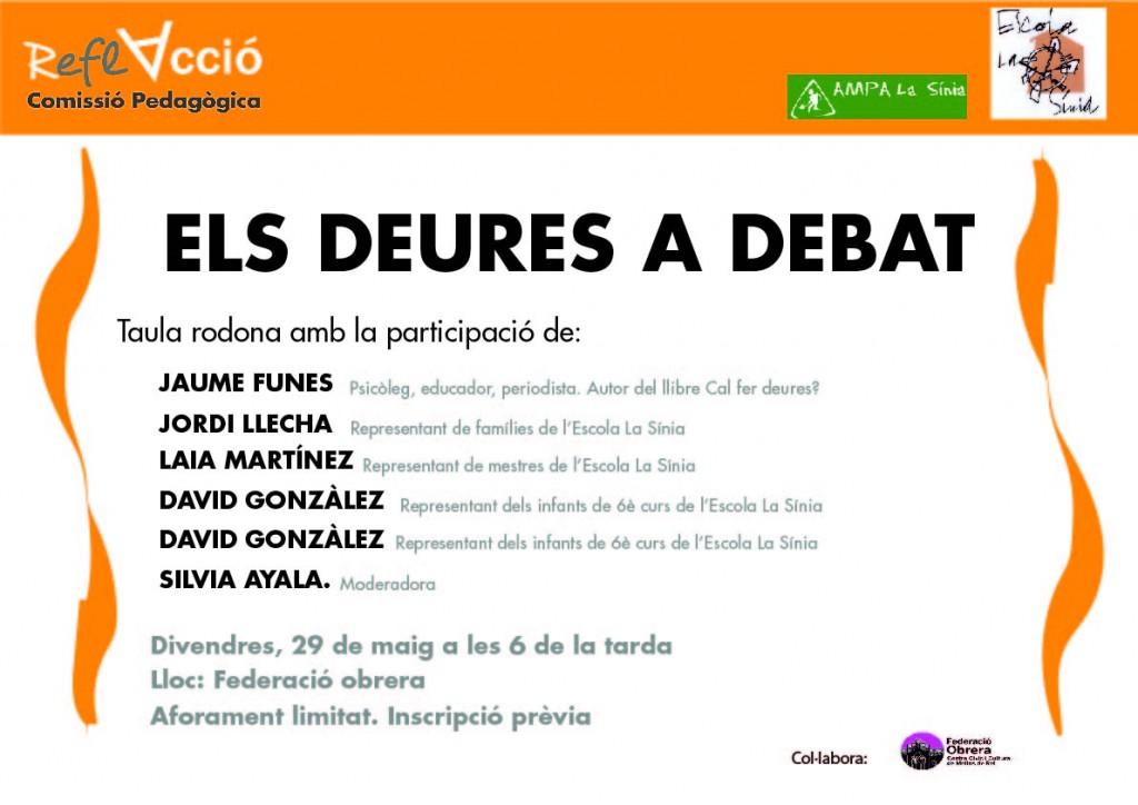 cartell Els deures a debat-16