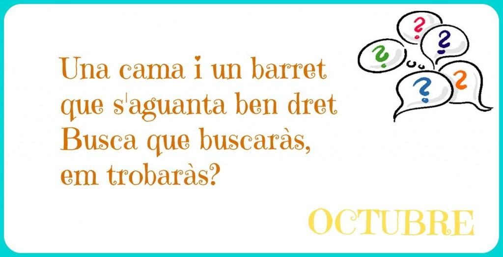 endevinalla octubre 2